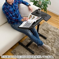 日本山業SANWA筆記本升降多功能桌電腦桌懶人床邊桌置地移動桌